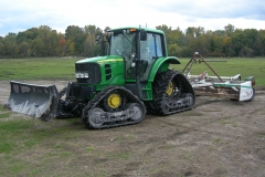 John Deere 6000 with Scraper and FmX