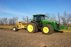 John Deere with Johnson Plow and FmX