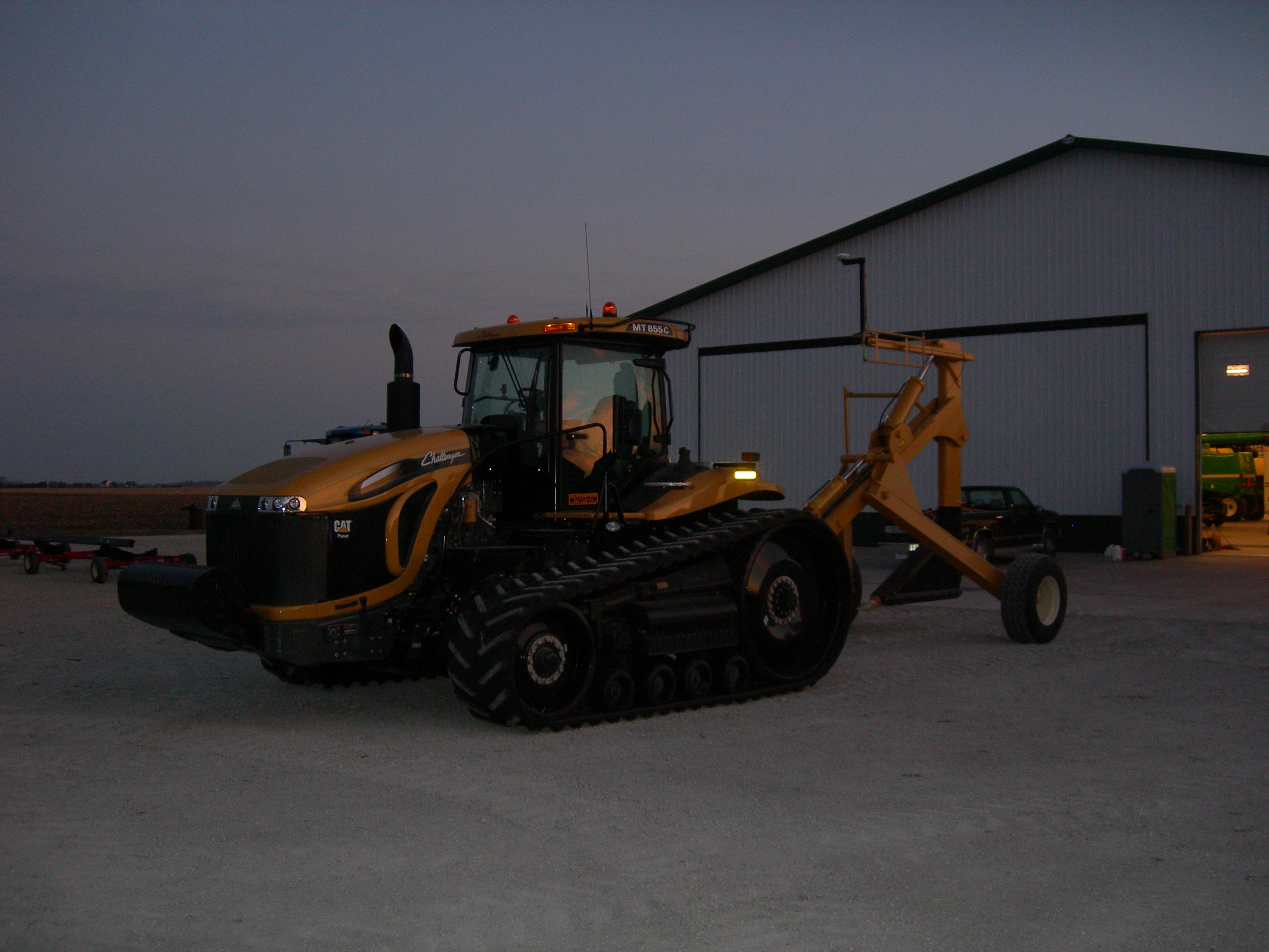 MT865 with Johnson Plow and FmX and AutoPilot